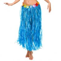Hawaiian Grass Skirt Blue (9443)
